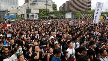 Protesters firm as HK says extradition bill 'dead'