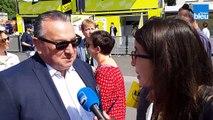 Tour de France : Jean-Pierre Caillot, président du Stade de Reims