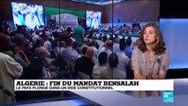 L'Algérie plonge dans un vide constitutionnel