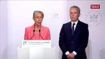 Élisabeth Borne annonce une écotaxe sur les vols aériens au départ de la France