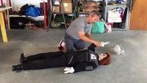 Ce que peuvent faire les pompiers avec un mannequin sur mesure