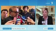 """Affaire de l'arbitrage du Crédit lyonnais : Bernard Tapie """"au bord des larmes"""" en apprenant sa relaxe"""