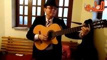 محمد عبدالرحمن.. عازف الجيتار.. صانع السعادة في القاهرة الدولي للكتاب