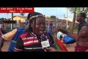 CAN2019/ COTE D'IVOIRE - MALI : RÉACTIONS AVANT ET APRÈS LE MATCH À BOUAKE