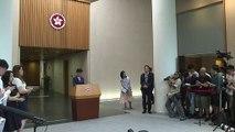 Hong Kong: chefe do governo diz que lei polêmica 'morreu'
