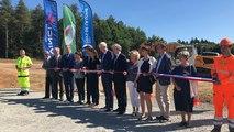 Inauguration du chantier du futur échangeur de l'Huisne sarthoise sur l'A11