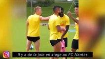 C'est le moment des bizutages à Nîmes - Il y a de la joie en stage au FC Nantes