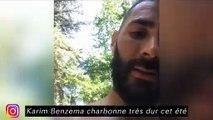 Les joueurs d'Angers se font très mal - Karim Benzema charbonne très dur cet été