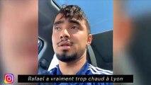 Rafael a vraiment trop chaud à Lyon - Kevin Trapp transpire pour ses abdos