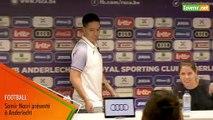 L'Avenir - Football : Samir Nasri présenté officiellement à Anderlecht