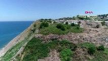 ZONGULDAK Kentin deniz kenarındaki eski çöp döküm alanı tehlike saçıyor