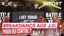 Breakdance aux J.O pour ou contre ?