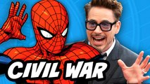 Captain America Civil War - Spider Man Tom Holland Reaction