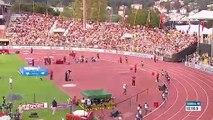 Un coureur fête sa victoire un tour trop tôt pendant un 5000 mètres !