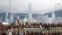 "Les Hongkongais ciblent une gare ""chinoise"""