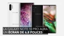 Les Samsung Galaxy Note 10 et Note 10 Pro seront présentées le mercredi 7 août
