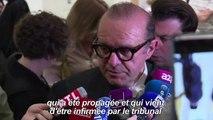 "France: jugé pour ""escroquerie"", Bernard Tapie relaxé"