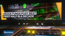 Hedge Funds Rebound With Best First Half in a Decade
