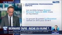 Quel est l'état du patrimoine de Bernard Tapie?