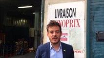 DNA - Jean-Baptiste Gernet explique l'expérimentation de livraison Monoprix en centre-ville à Strasbourg