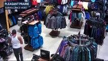 Des jeunes entrent dans un magasin et volent pour 30 000 dollars en 15 secondes
