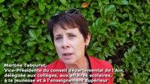 Martine Tabouret, vice-présidente du conseil départemental