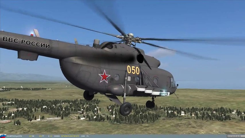 Helicopter Flight Simulator - Mi8 for DCS World