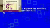 Full version  Examples   Explanations: Securities Regulation, 6th Ed.  Best Sellers Rank : #5