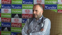 "Djamel Belmadi : ""Adam Ounas, une valeur montante de notre équipe nationale"""