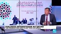 """Dialogue inter-afghan au Qatar, """"un petit pas important"""" vers la paix"""