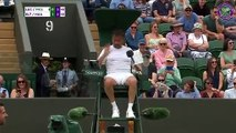 Wimbledon : fatigué, Henri Leconte laisse sa place à l'arbitre