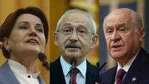 Bahçeli: Merkez Bankası Başkanı ayrıcalıklı değil, Akşener: Görevden başkan değil, damat alınmalıydı