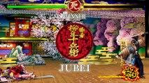 Jubei Yagyu PERFECT MATCHES | Samurai Shodown 2019