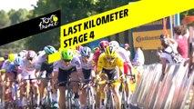 Last kilometer / Flamme rouge - Étape 4 / Stage 4 - Tour de France 2019