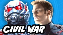 Captain America Civil War Ant Man Viral Clip Breakdown
