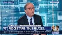 """Relaxe de Bernard Tapie: l'avocat de Maurice Lantourne dénonce """"un procès en sorcellerie, en réputation"""""""