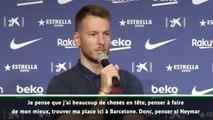"""Barça - Neto: """"Penser si Neymar vient, ce n'est pas important"""""""