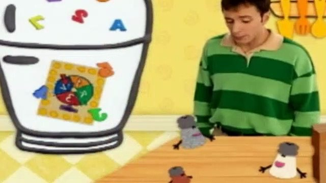 Blues Clues Season 4 Episode 8 - What's Inside