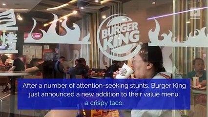 Burger King Adds $1 Taco to Menu Nationwide