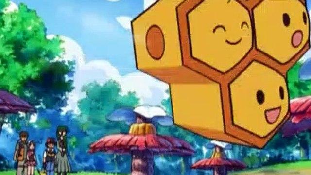 Pokemon Season 10 Episode 32 An Angry Combeenation