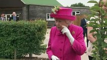 The Queen insists she's not told to plant a tree