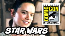 Star Wars The Force Awakens Comic Con 2015 Panel - Part 1