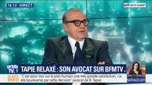 """Bernard Tapie relaxé: pour son avocat, """"ce qui a été décisif, c'est que nous sommes tombés dans un vrai procès"""""""