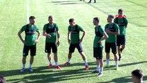 SPOR Konyaspor'un Bolu kampı başladı