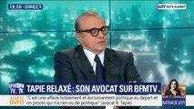 """Bernard Tapie relaxé: son avocat décrit """"une affaire totalement et exclusivement politique au départ"""""""
