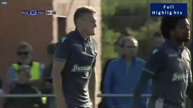 2-0 Karol Świderski Second Goal - PAOK 2-0 PEC Zwolle - 09.07.2019