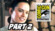 Star Wars The Force Awakens Comic Con 2015 Panel -  Part 2