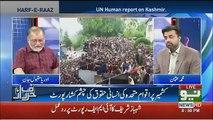 Orya Maqbool Jaan Response On UN Human Report On Kashmir..