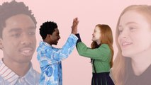Stranger Things' Caleb McLaughlin and Sadie Sink Take A Friendship Test