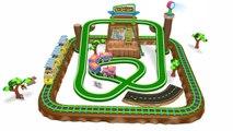 3D Animated Toy Train Play Set for - kids - children - boys - kids - children - boys - baby- - Cartoon Videos for - Children-- - Toy Factory